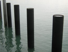 Stream HDPE Pipe in Marine Environment
