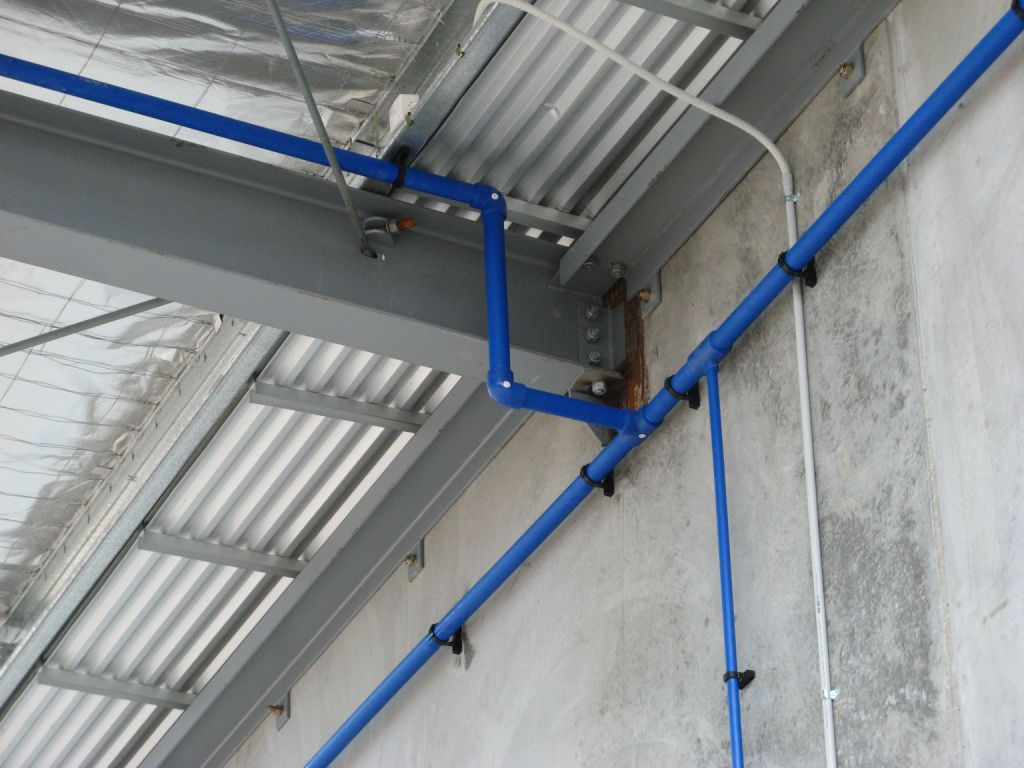 Compressed Air Pipe System