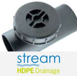 Stream HDPE Drainage brand and fitting
